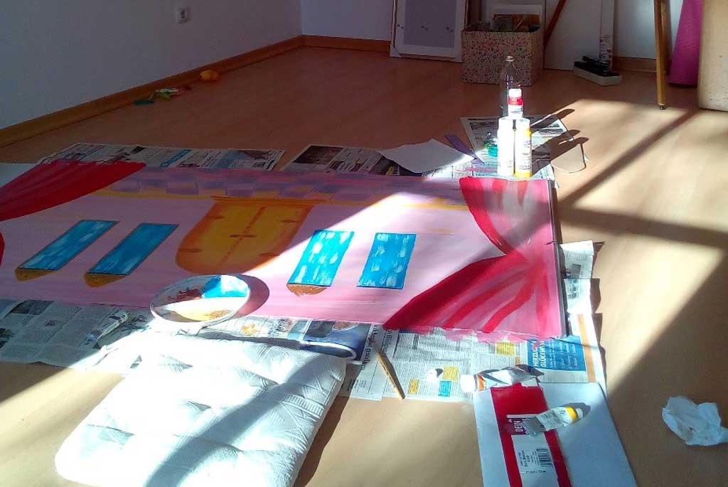 Kulissen-selbst-gemalt-beim-Chiemsee-Kasperltheater